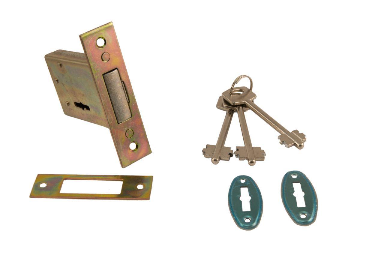 Замок врезной FZB - 800 CP 3 ключа