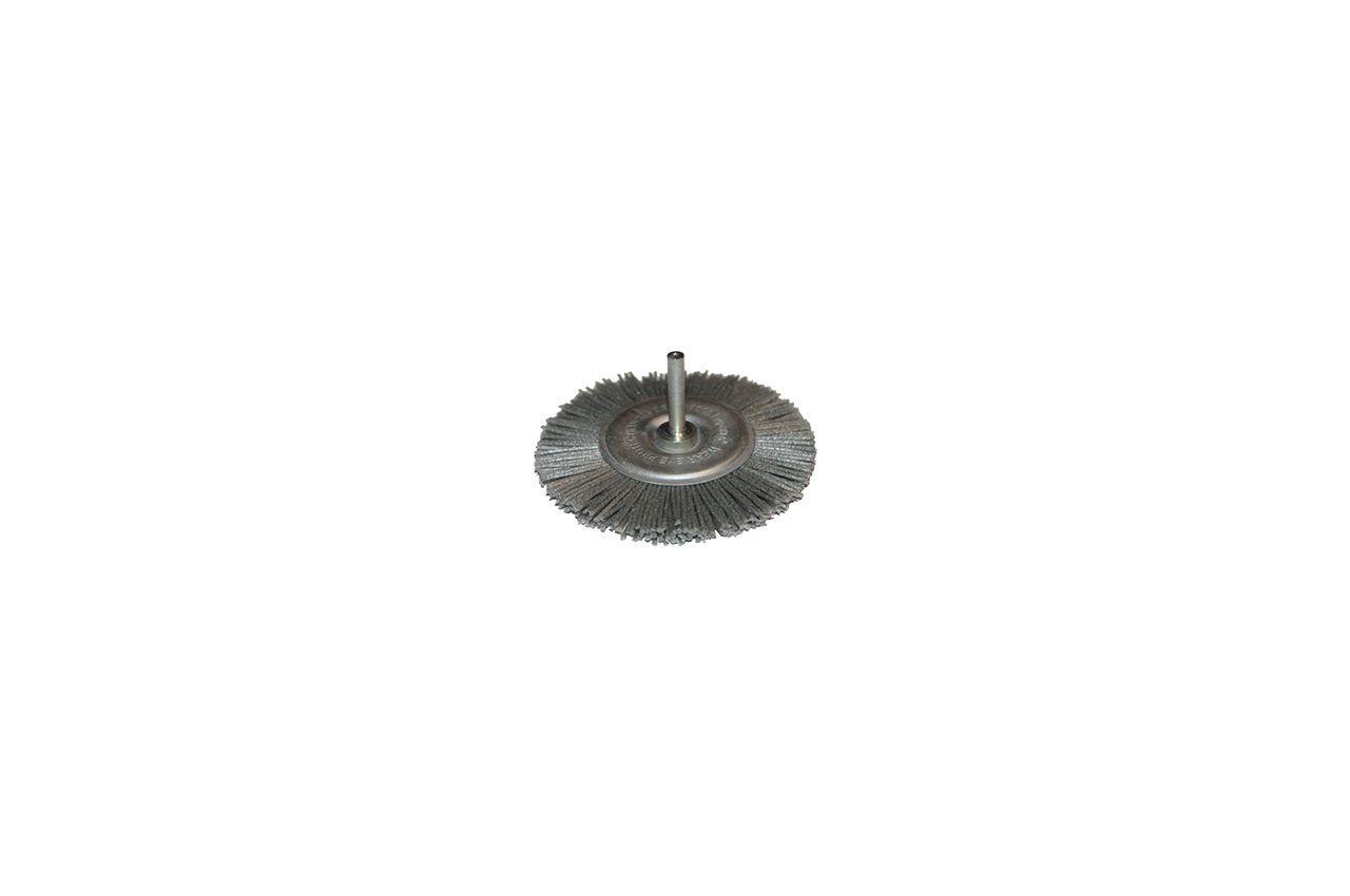 Щетка пиранья дисковая на дрель Pilim - 75 мм x P180 синяя