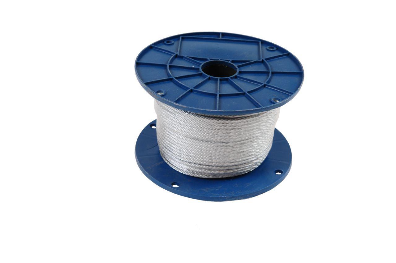 Трос стальной Apro - 2 мм x 200 м (1 x 19) DIN 3053