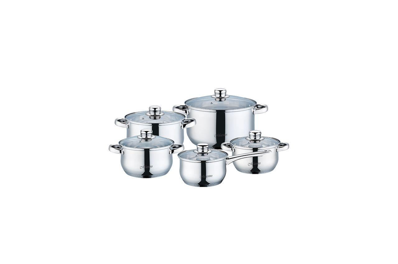 Набор посуды нержавеющий Maestro - 1,5 x 2 x 3 x 5 x 1,5 л (5 шт.) MR-2020-10