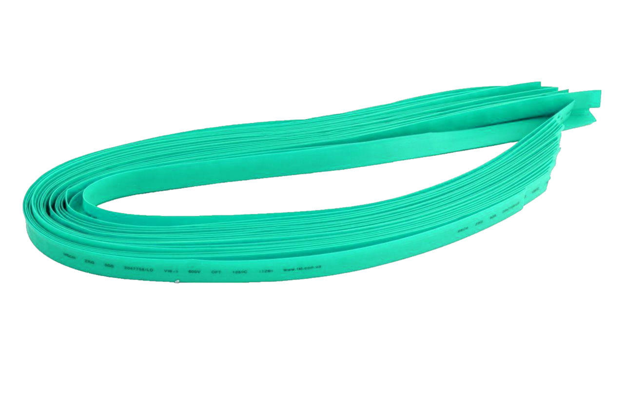 Трубка термоусадочная Apro - 1,5 мм x 30 м, зеленая