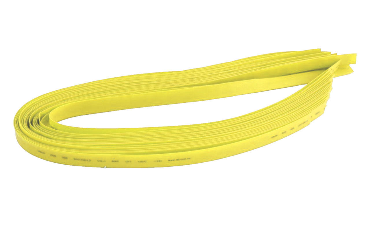Трубка термоусадочная Apro - 3 мм x 30 м, желтая