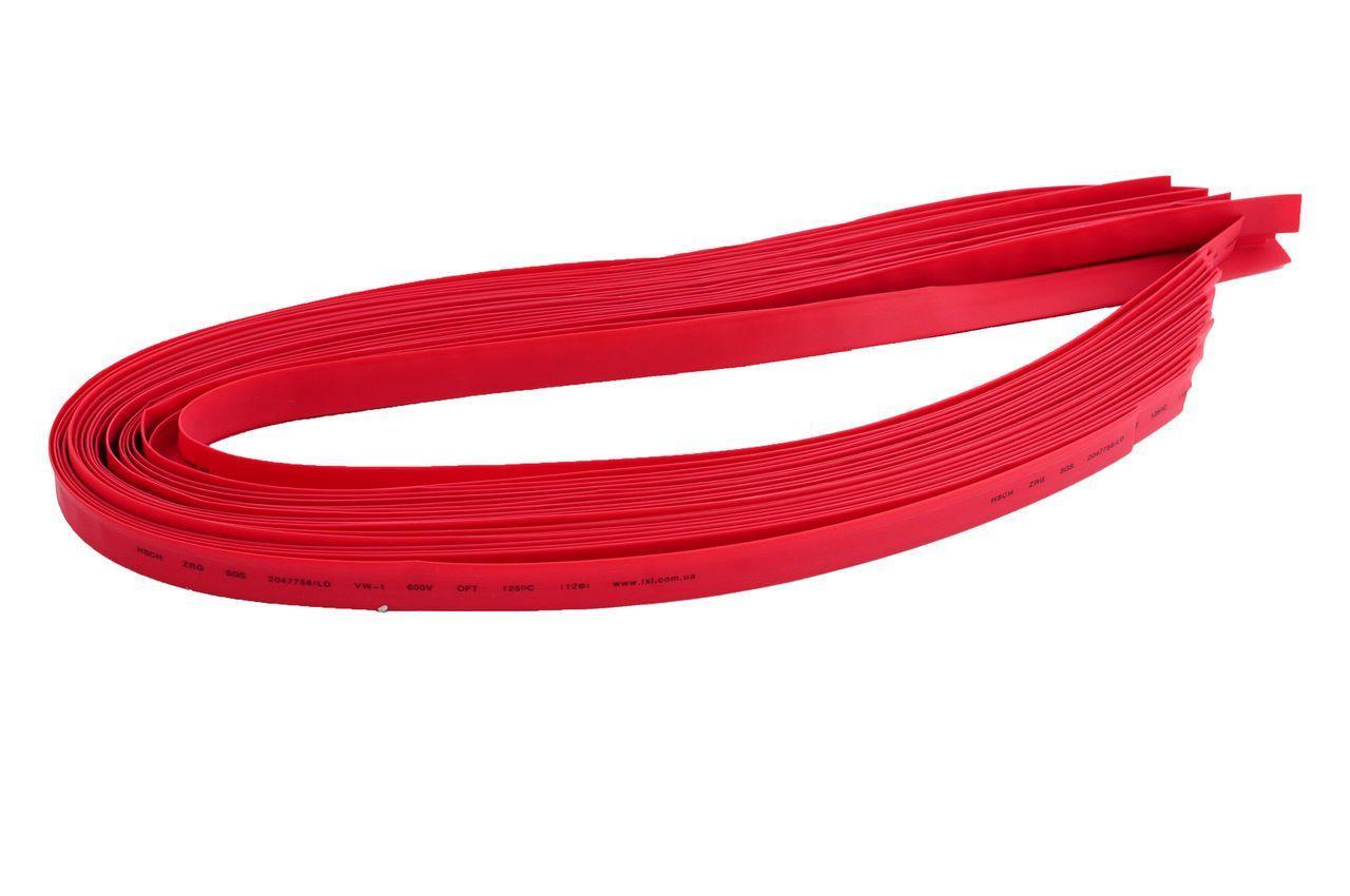 Трубка термоусадочная Apro - 6 мм x 30 м, красная