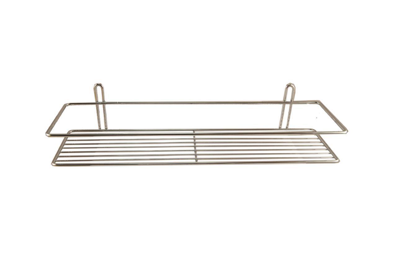 Полка для ванной FZB - 110 x 400 x 60 мм, прямая одинарная