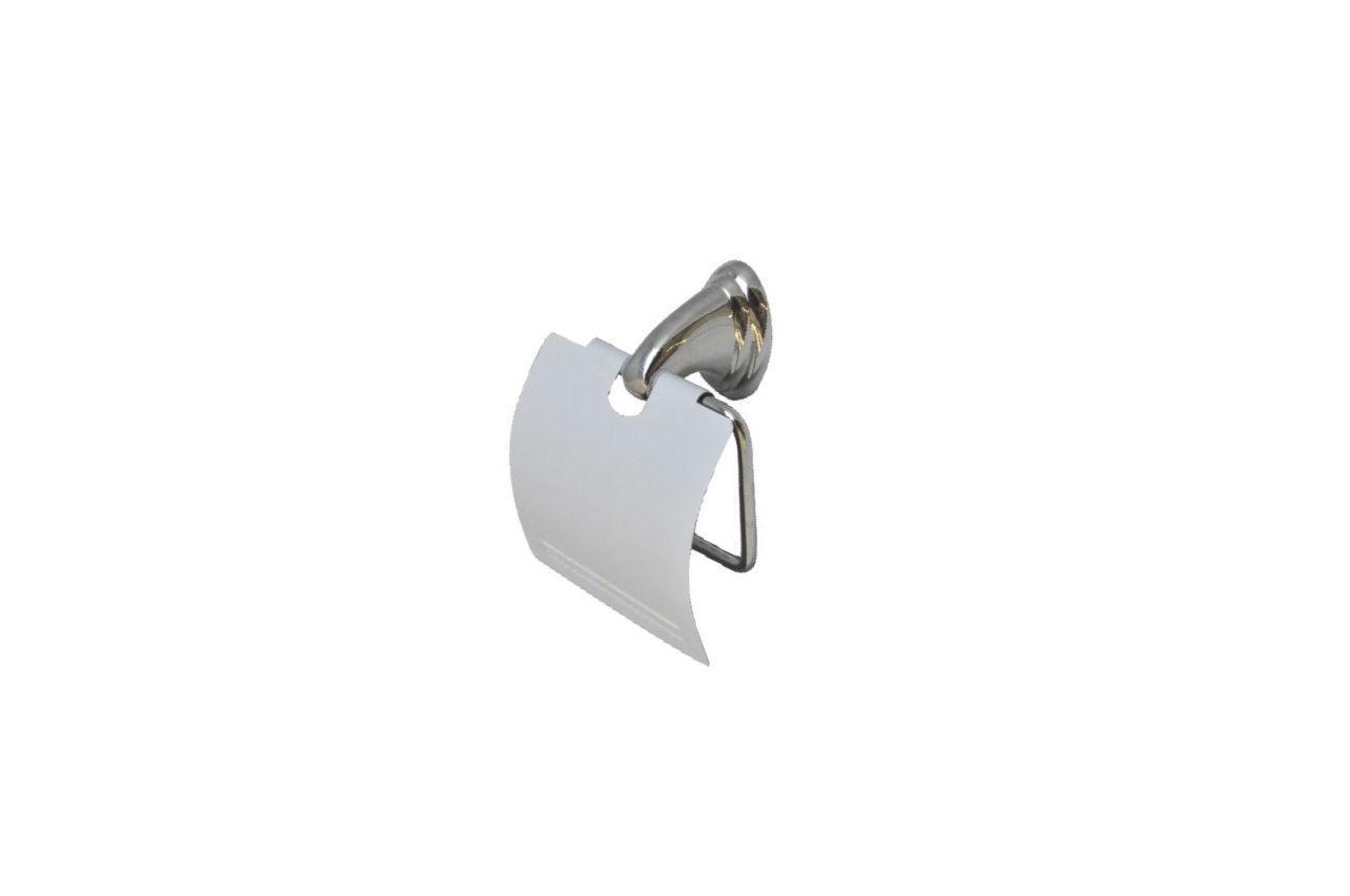 Держатель для туалетной бумаги FZB - закрытая белая