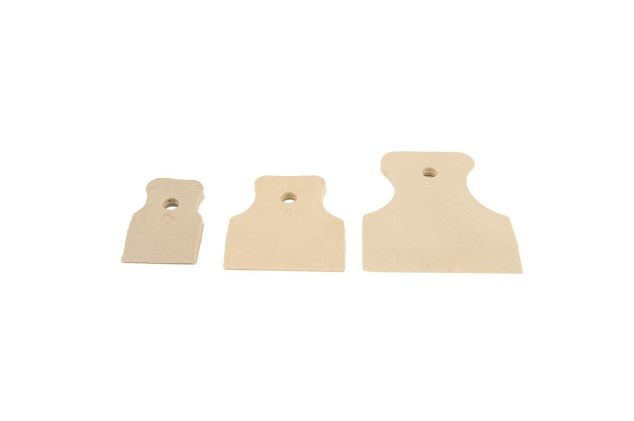 Набор резиновых шпателей Housetools - 3 шт. (40, 60, 80 мм)