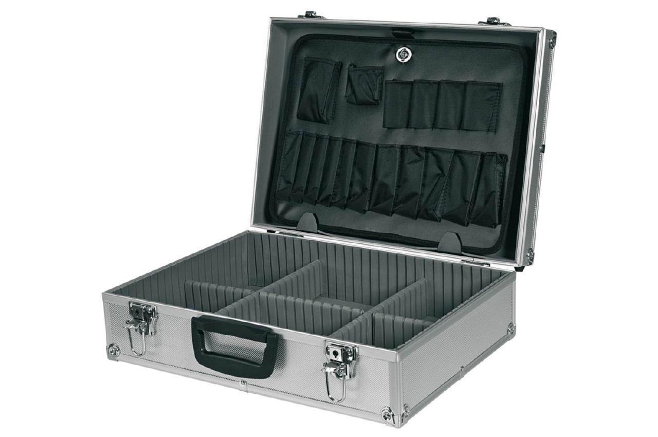 Кейс для инструмента Housetools - 455 x 330 x 152 мм алюминиевый с перегородками