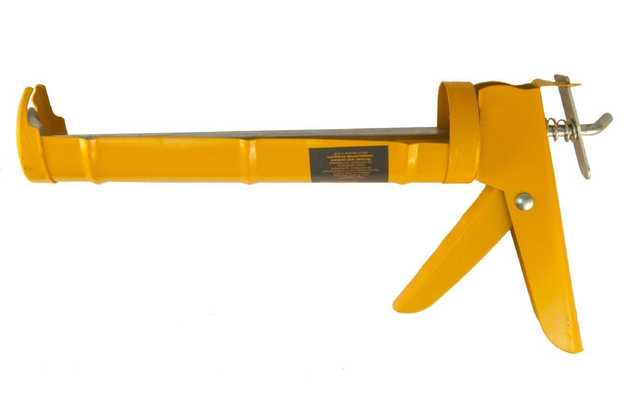 Пистолет для силикона Сила - 225 мм, сплошной