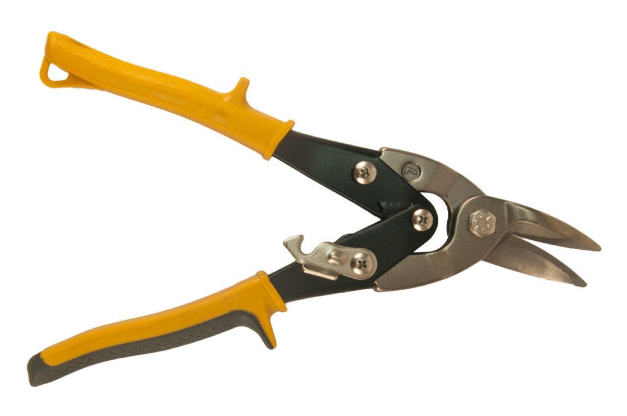 Ножницы по металлу Сила - 250 мм, левые хром