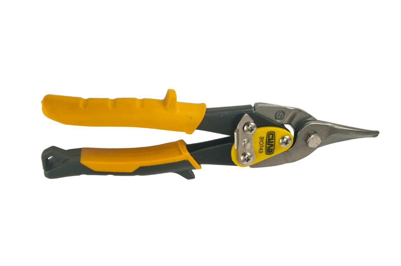 Ножницы по металлу Сила - 250 мм, прямые PROF