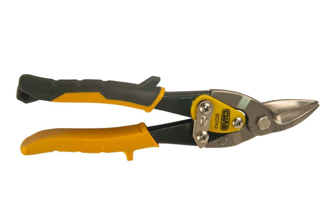 Ножницы по металлу Сила - 250 мм, правые PROF