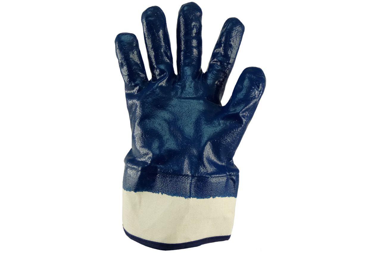 """Перчатки Сила - масло-бензостойкие с твердым манжетом 10"""" 6 шт."""