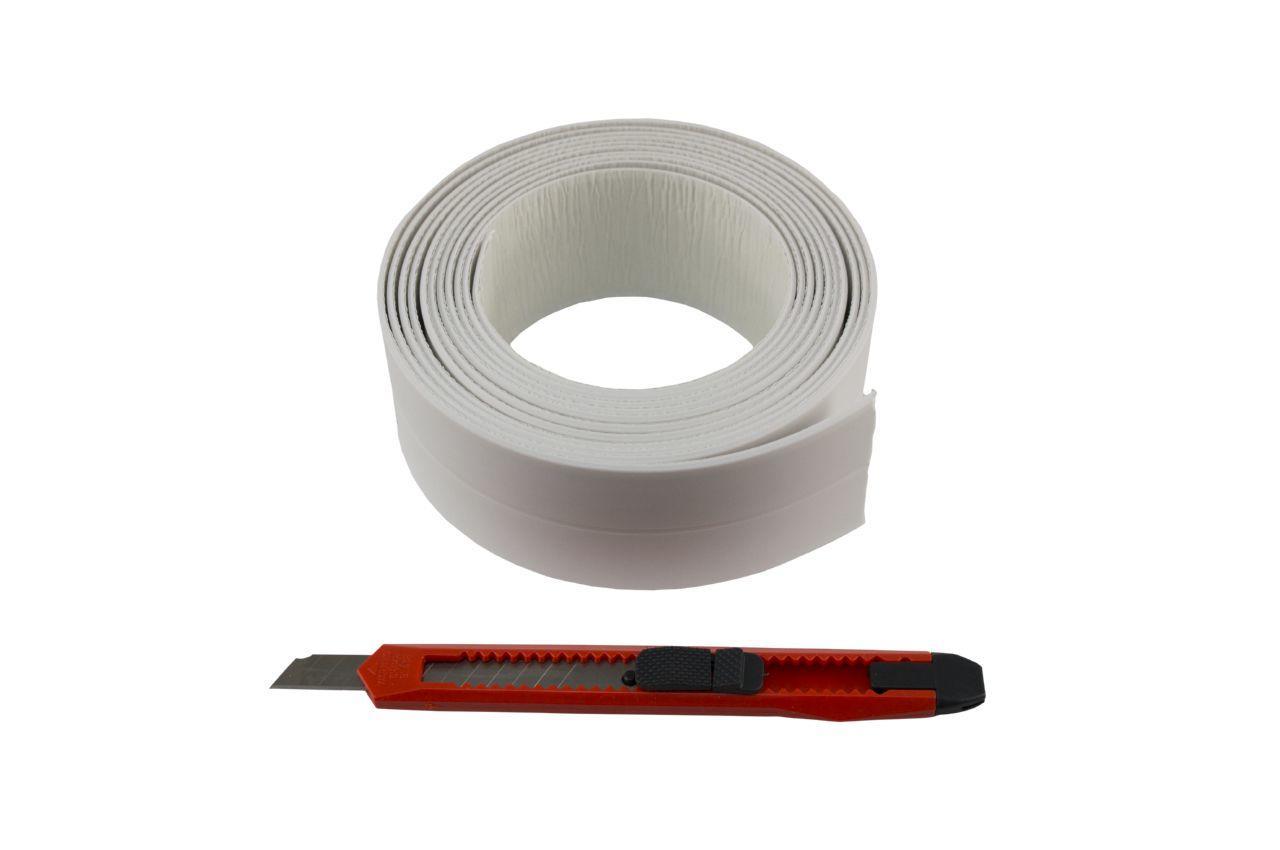Бордюрная лента для ванной PRC - 41 мм x 3 м, LW1