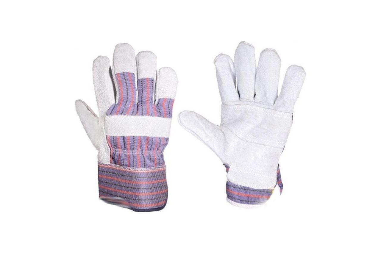 Перчатки PRC - замшевые комбинированные длинные 10,5