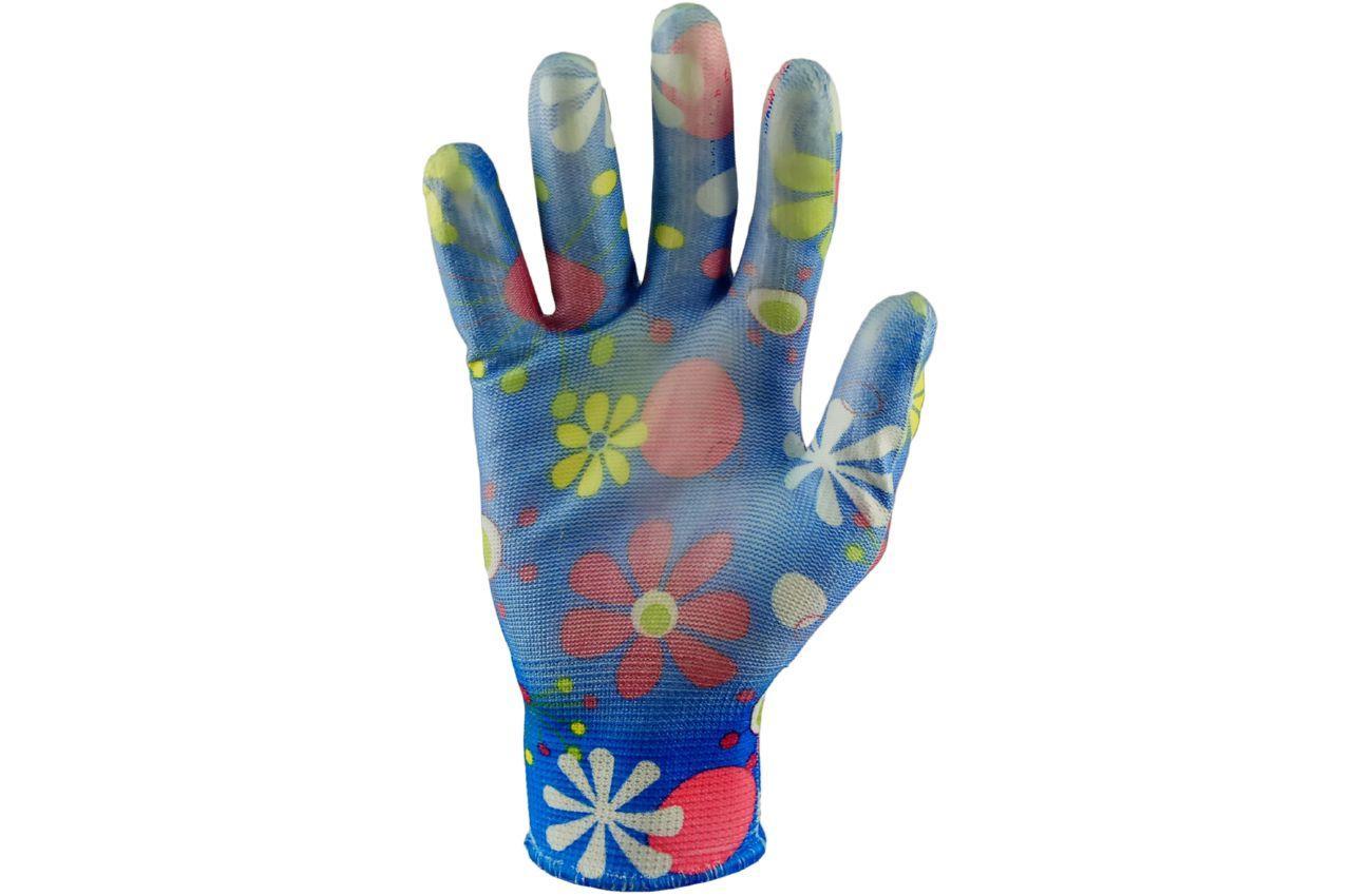 """Перчатки PRC - нейлон цветной 9"""" 12 шт."""