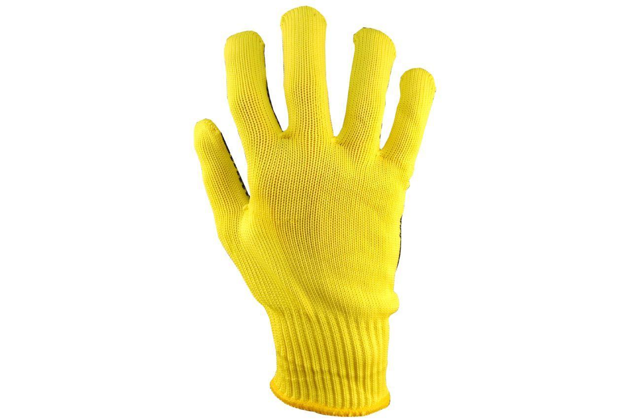 """Перчатки PRC - синтетика алиско желтая 10"""" 10 шт."""