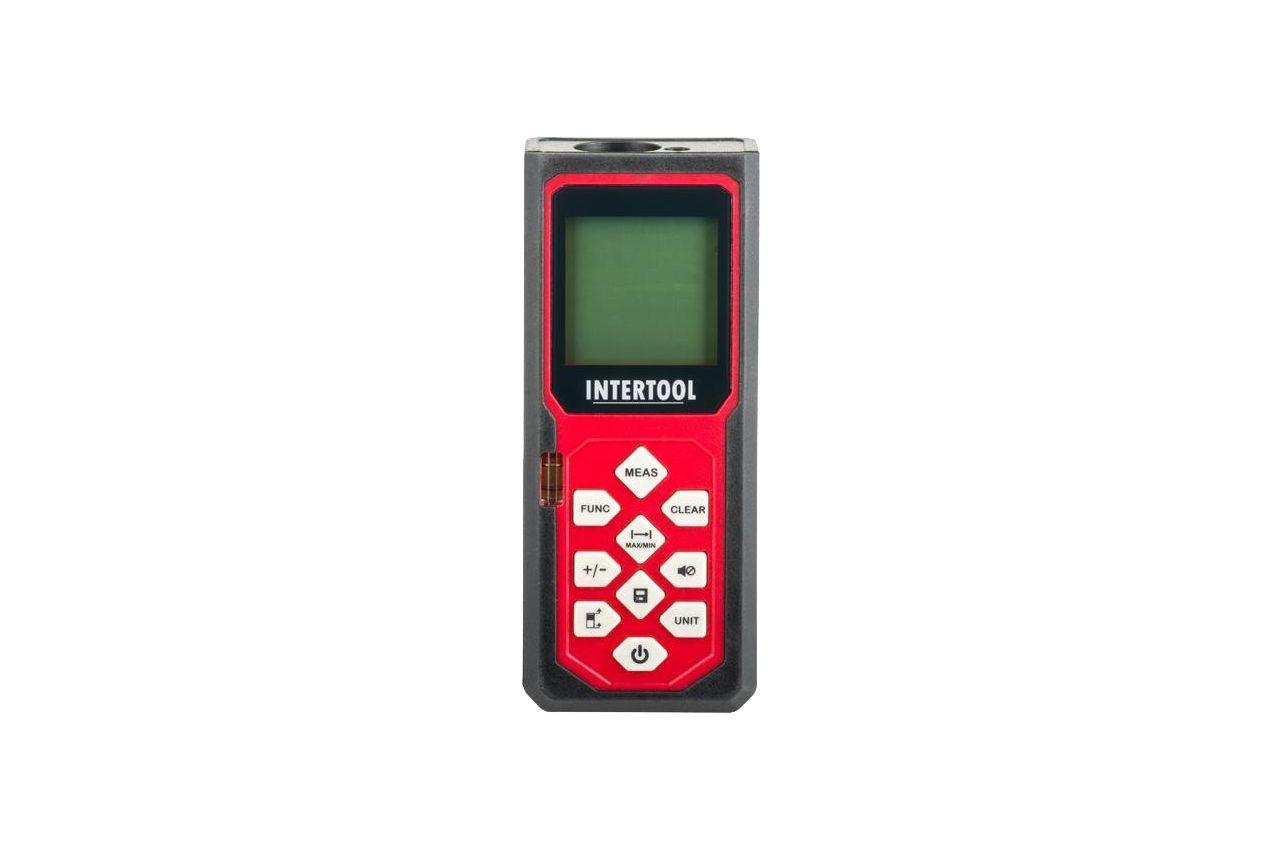 Дальномер лазерный Intertool - 40 м, MT-3054