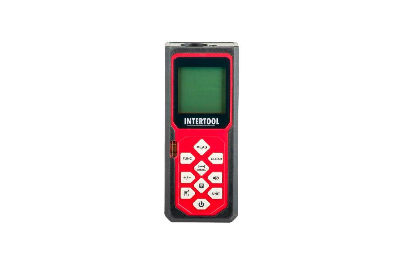 Дальномер лазерный Intertool - 60 м, MT-3055