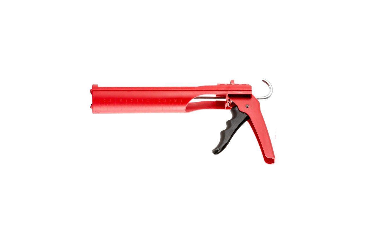 Пистолет для силикона Intertool - сплошной 225 мм, усиленный