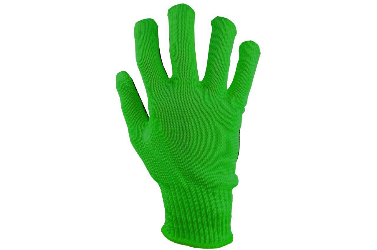 "Перчатки PRC - синтетика алиско зеленая 10"" 12 шт."