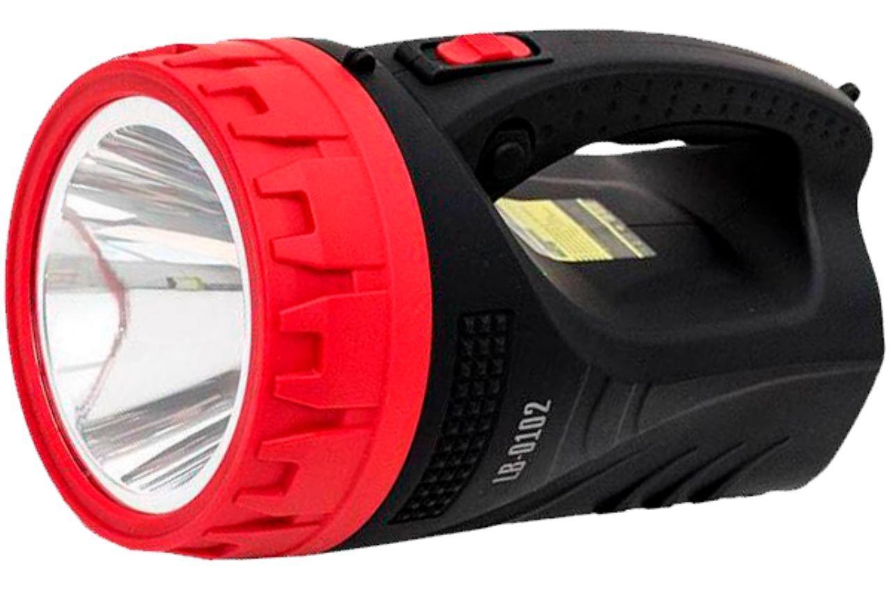 Фонарь аккумуляторный Intertool - 25 LED x 5 Вт, LB-0102