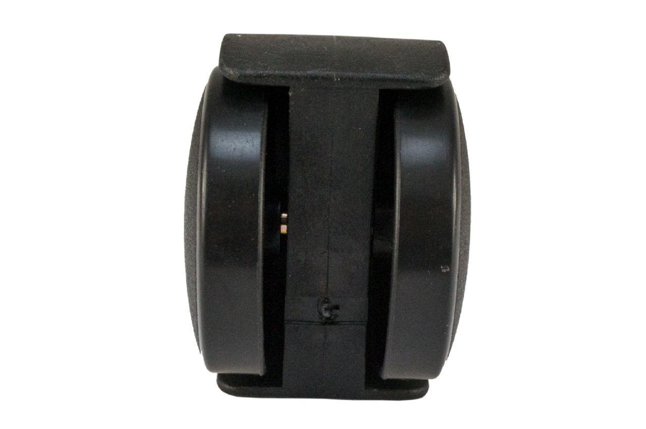 Опора колесная FZB - 50 мм, без фиксатора черная