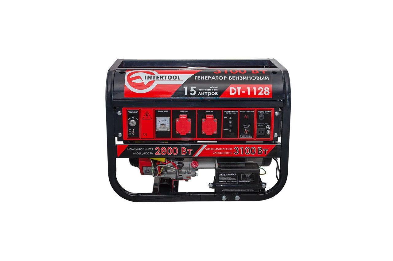 Генератор бензиновый Intertool - 2,8 кВт