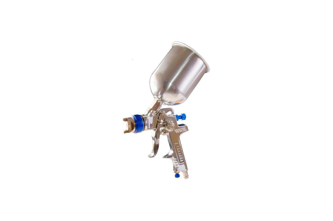 Пневмопистолет лакокрасочный HVLP Mastertool - верхний бак 600 мл x 1,4 мм 80-8903