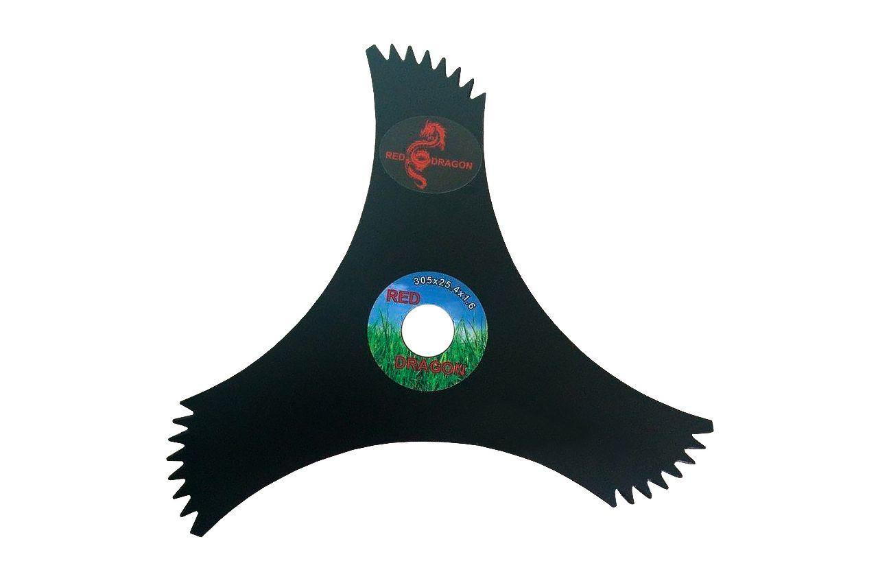 Диск для триммера PRC - 255 x 25,4 мм х 3Т, с зубьями