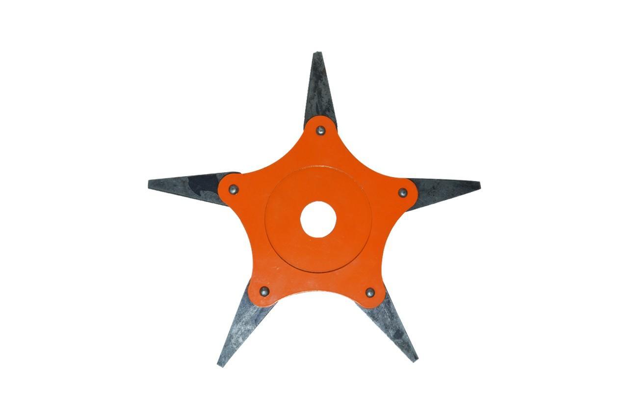 Диск для триммера Асеса - 255 x 25,4 мм х 5Т, сегментный