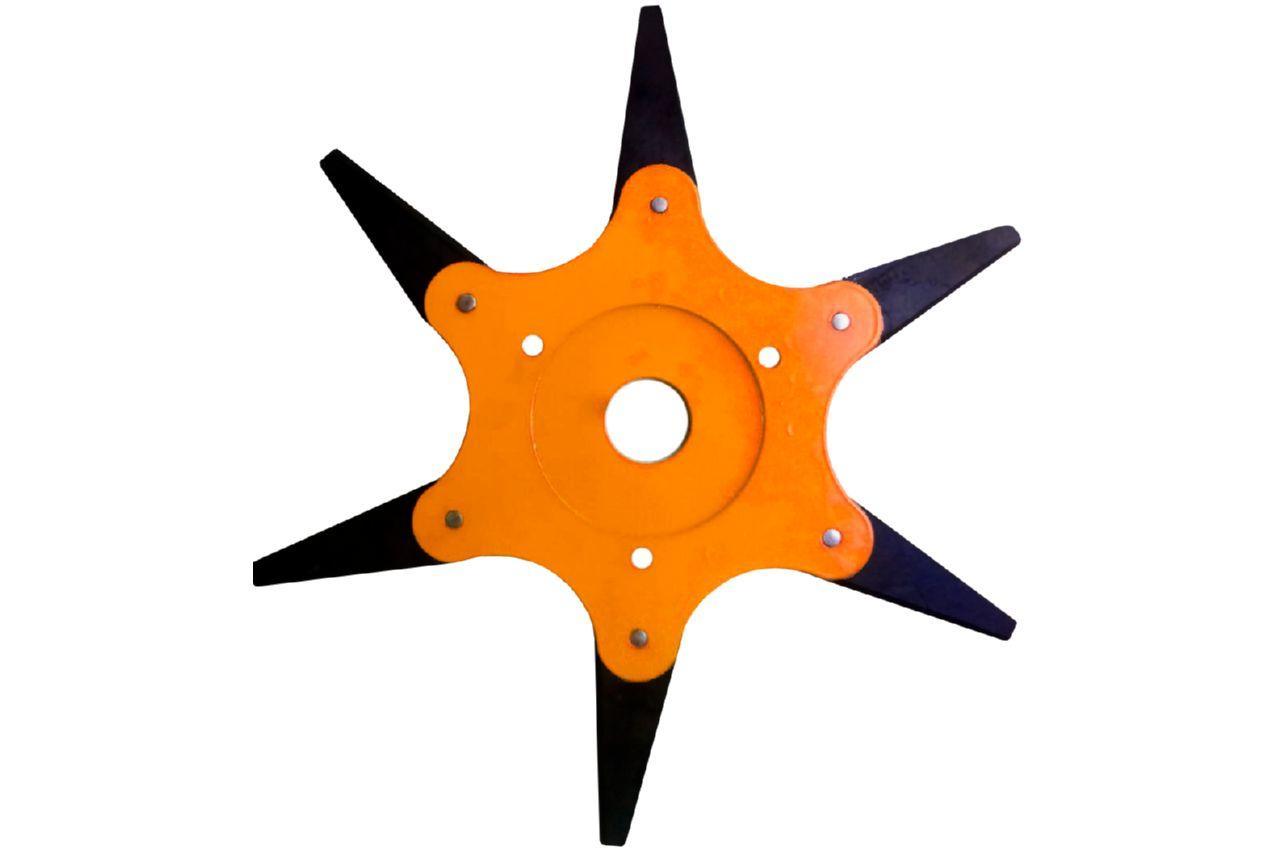 Диск для триммера Асеса - 255 x 25,4 мм х 6Т, сегментный
