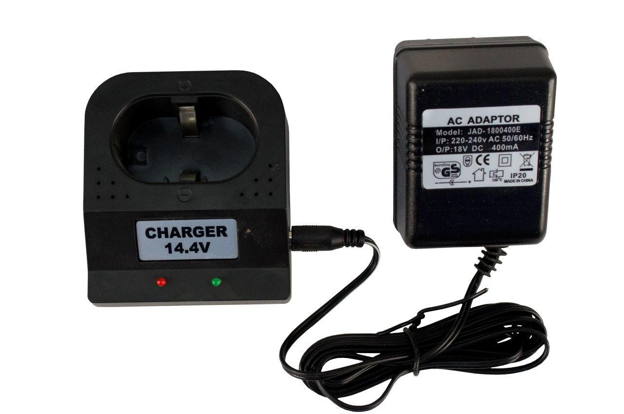 Зарядное устройство для аккумуляторных батарей шуруповерта Асеса - 14,4 В