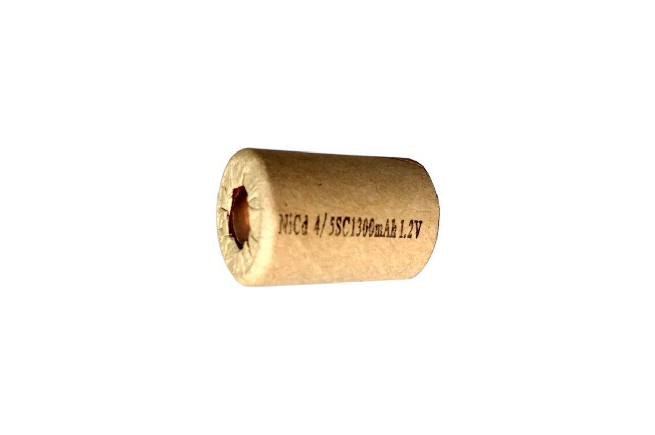 Элемент аккумулятора шуруповерта Асеса - Ni-Cd 1300 мАч x 1,2 В (22 x 43 мм), Б 1.3