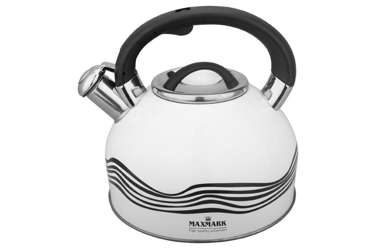 Чайник нержавеющий Maxmark - 3 л MK-1309, MK-1309