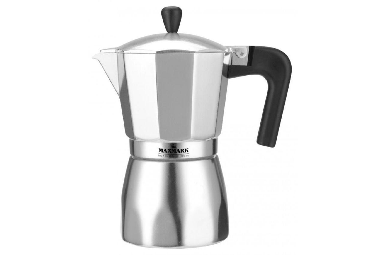 Кофеварка гейзерная Maxmark - 150 мл, MK-AL103