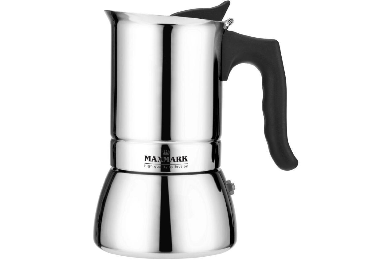 Кофеварка гейзерная Maxmark - 240 мл MK-S104, MK-S104