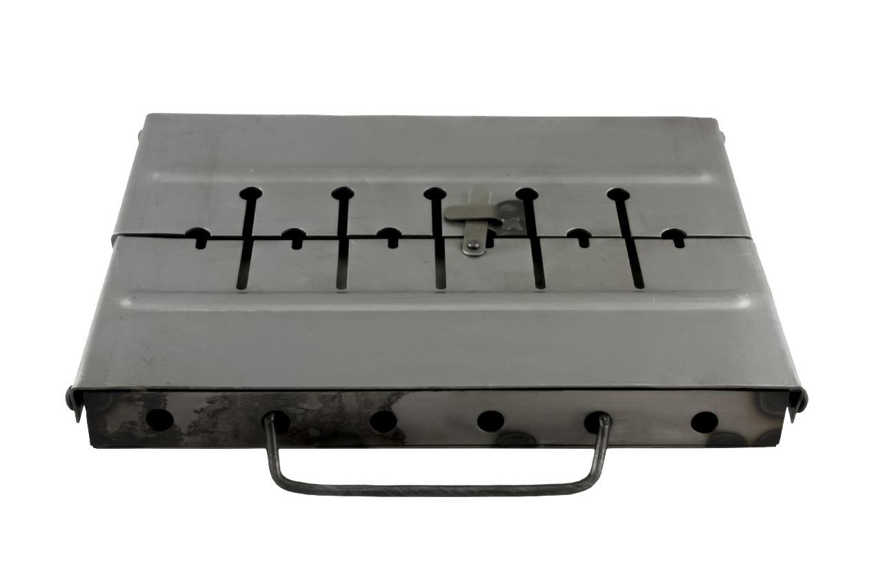 Мангал-чемодан ТМЗ - 8 шп., облегченный, 1510