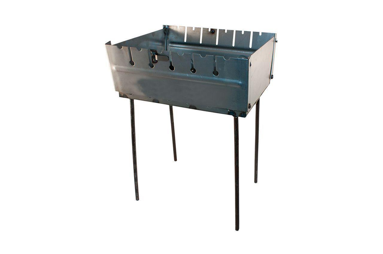 Мангал-чемодан ТМЗ - 12 шп. (1,5мм), облегченный