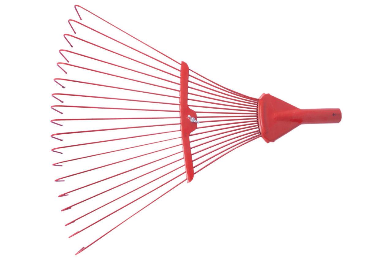 Грабли веерные ТМЗ - 18 прутьев цветные