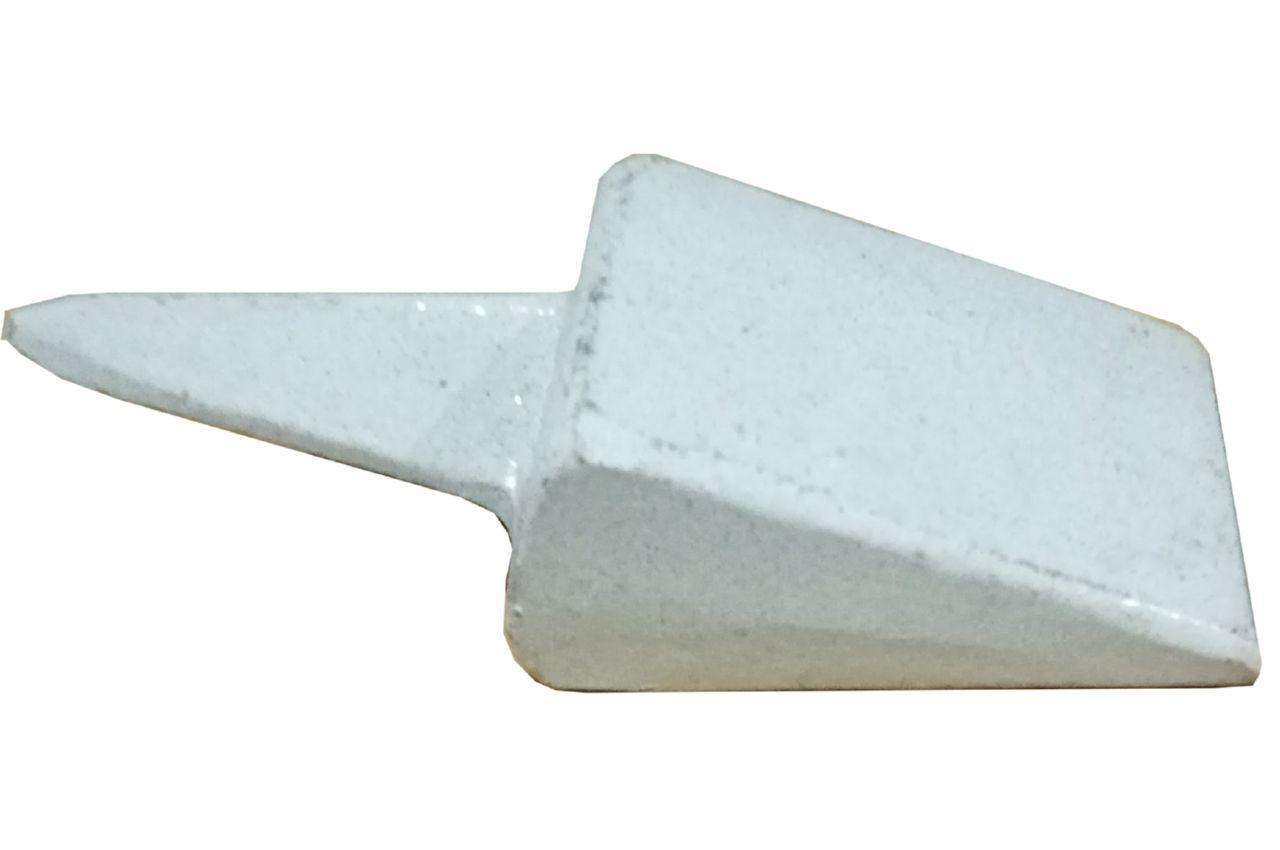 Бабка для косы ТМЗ - треугольная серая