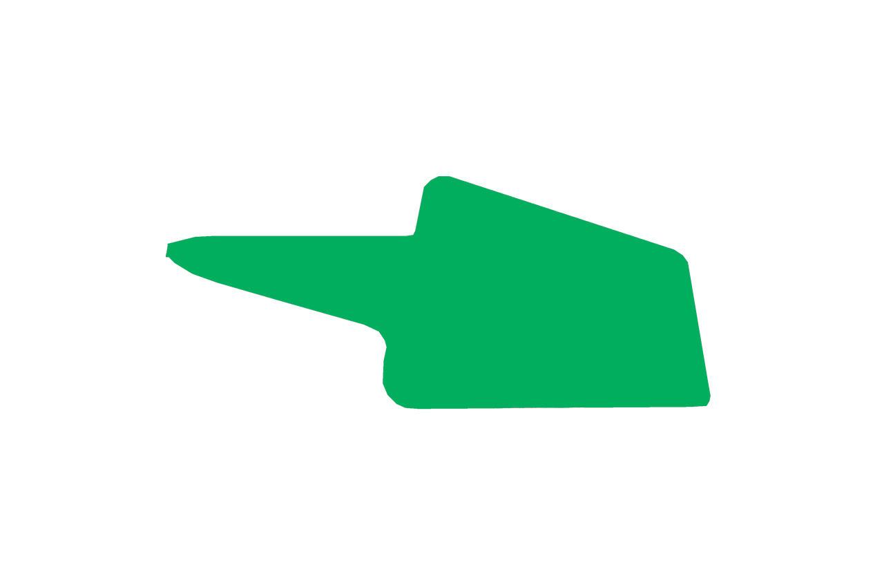 Бабка для косы ТМЗ - треугольная цветная