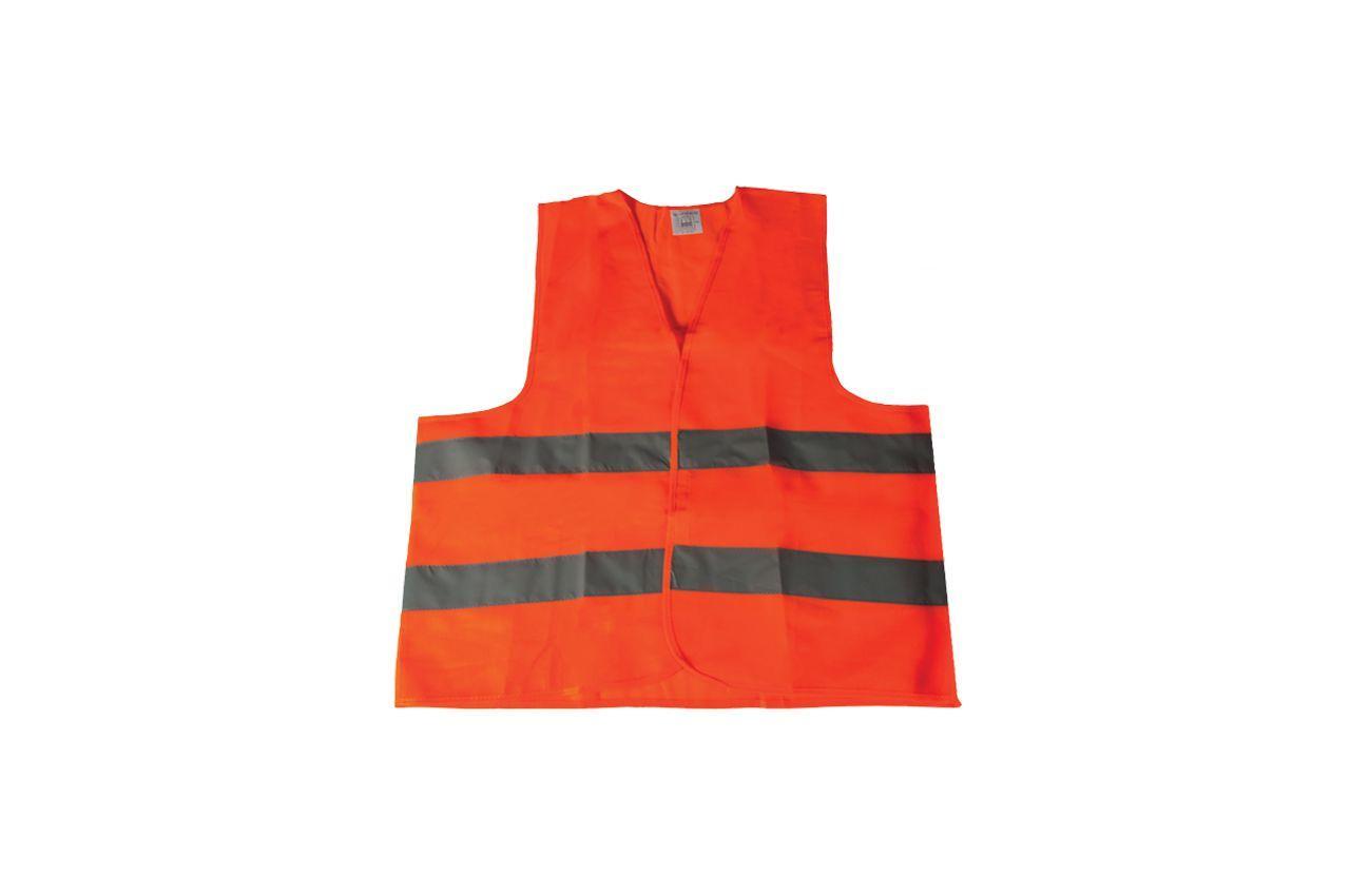 Жилет светоотражающий Mastertool - XL оранжевый