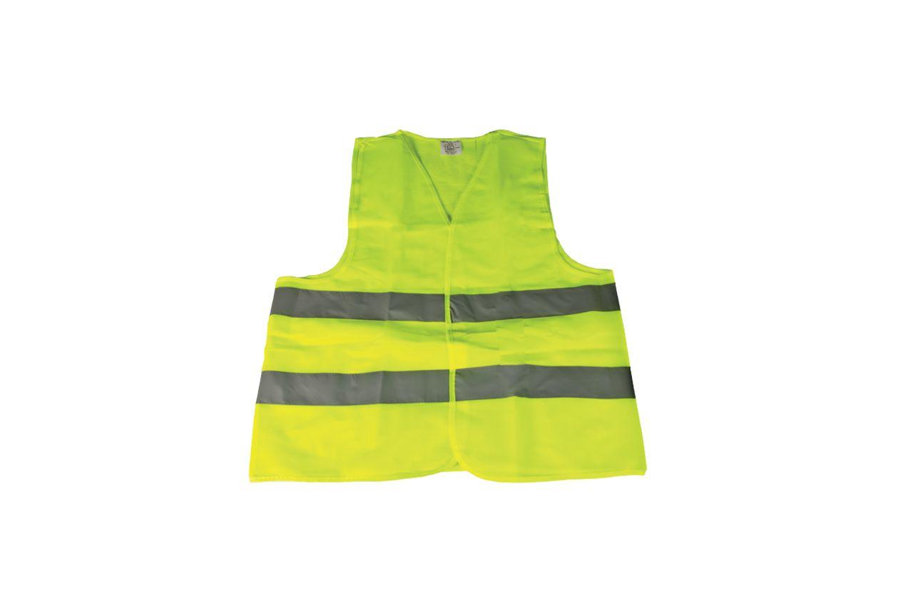 Жилет светоотражающий Mastertool - XL желтый