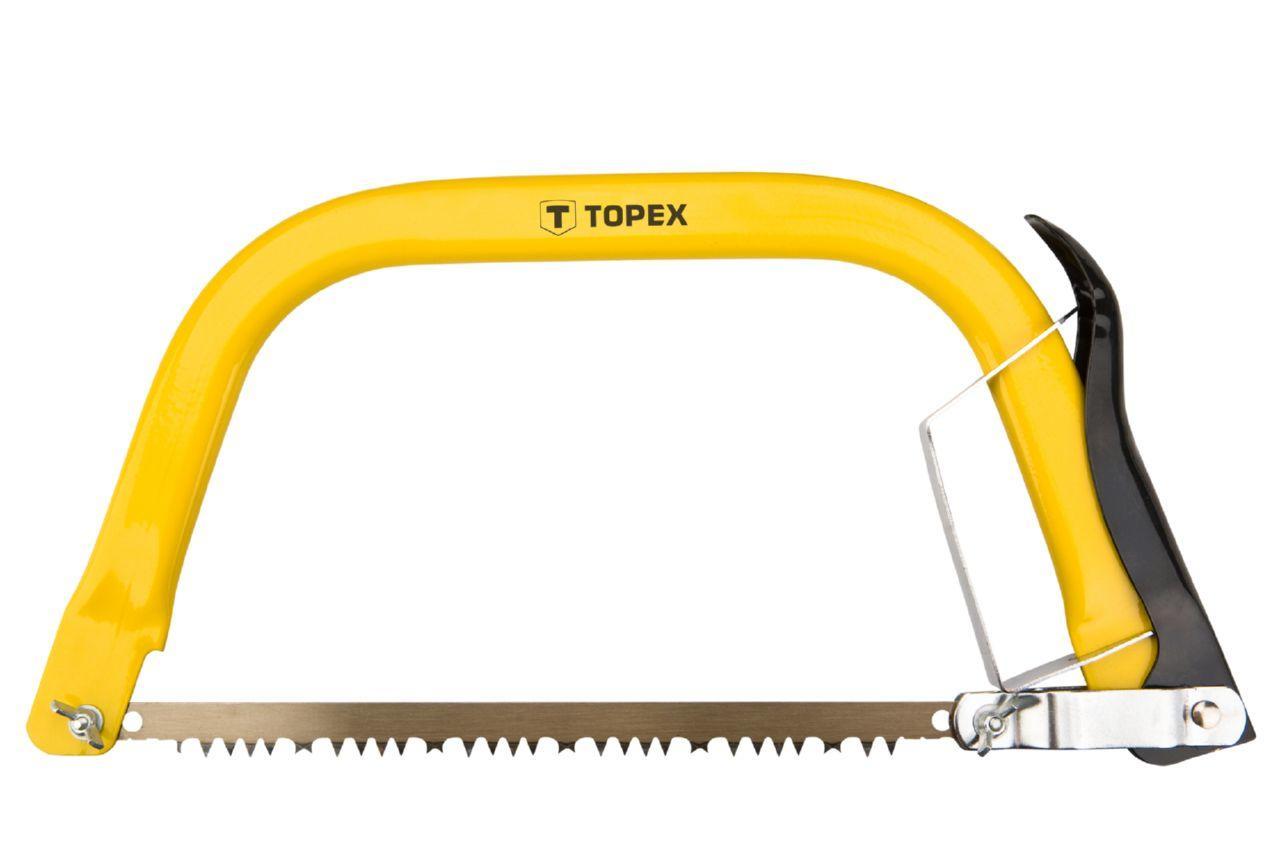 Ножовка по дереву лучковая Topex - 300 мм, 10A903