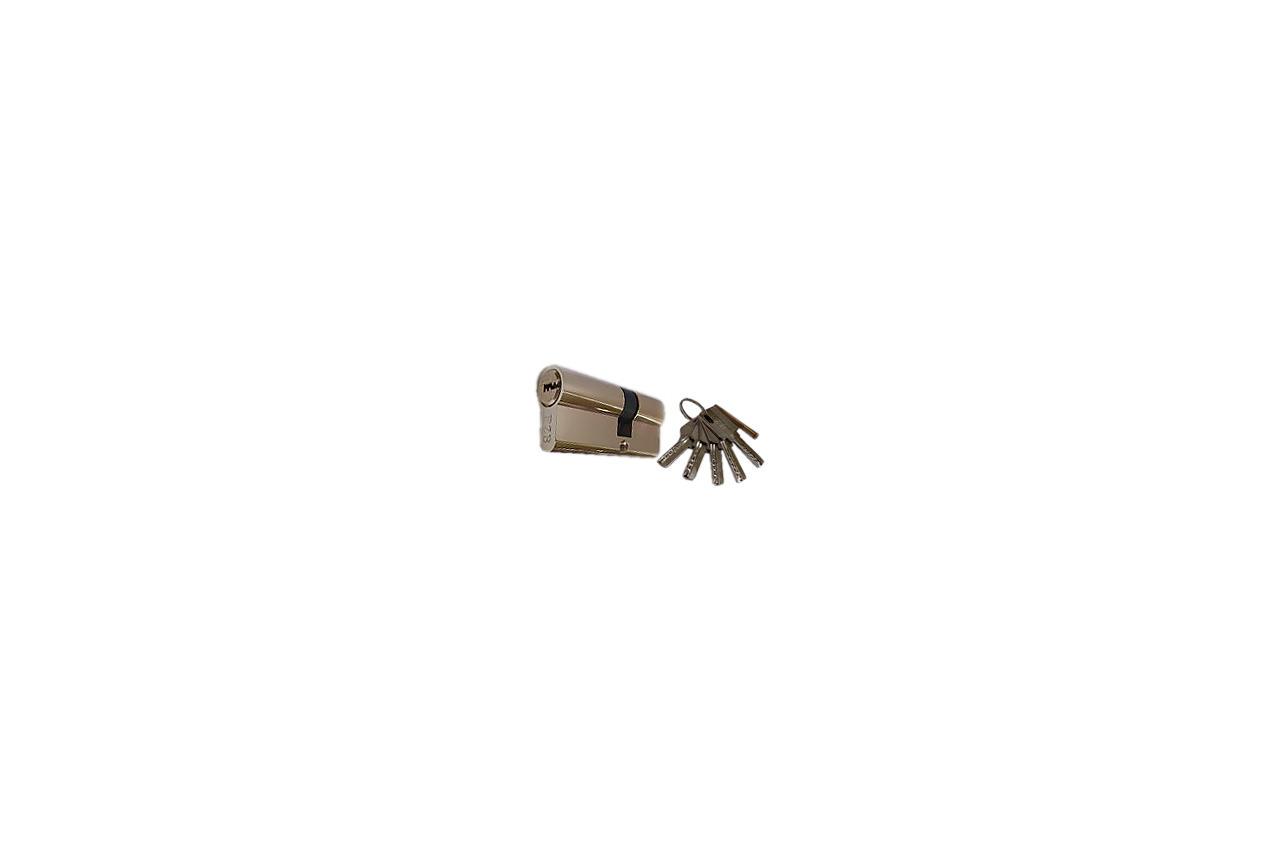 Цилиндр английский FZB - 70 мм 35/35 к/к PB (цинк)