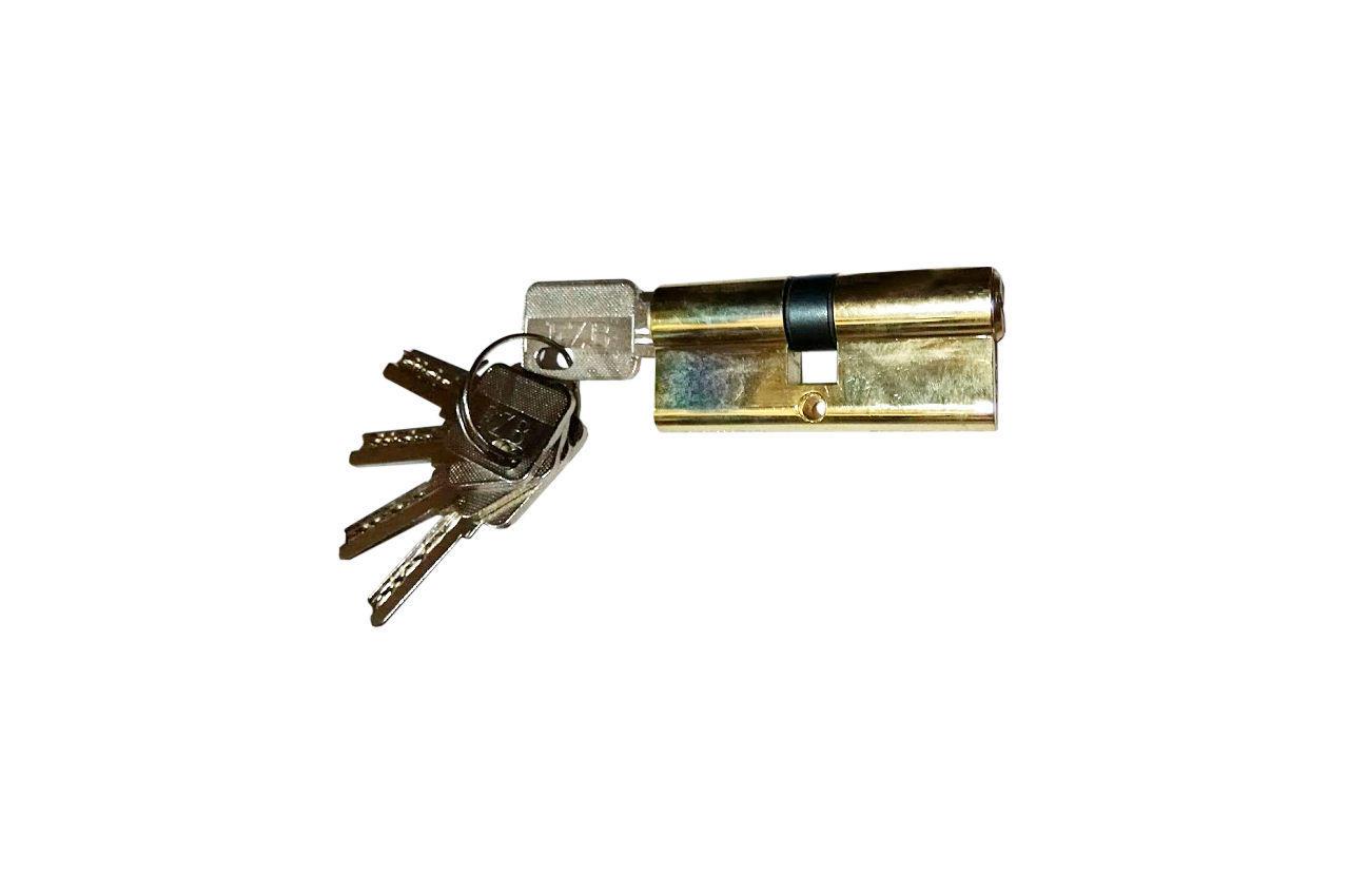 Цилиндр лазерный FZB - 80 мм 40/40 к/к PB (цинк)