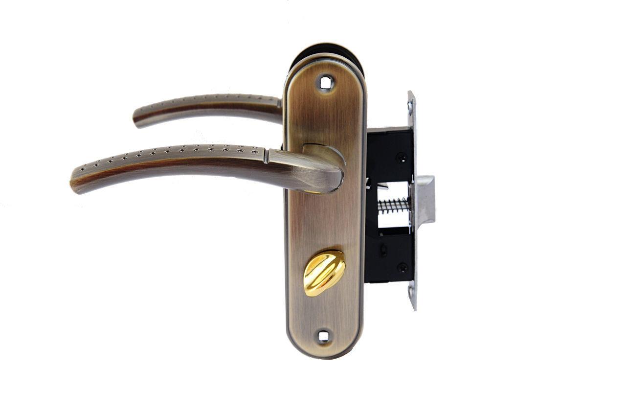 Ручка на планке с корпусом FZB - 50 мм BK-71106 COFFEE, 15-01-007