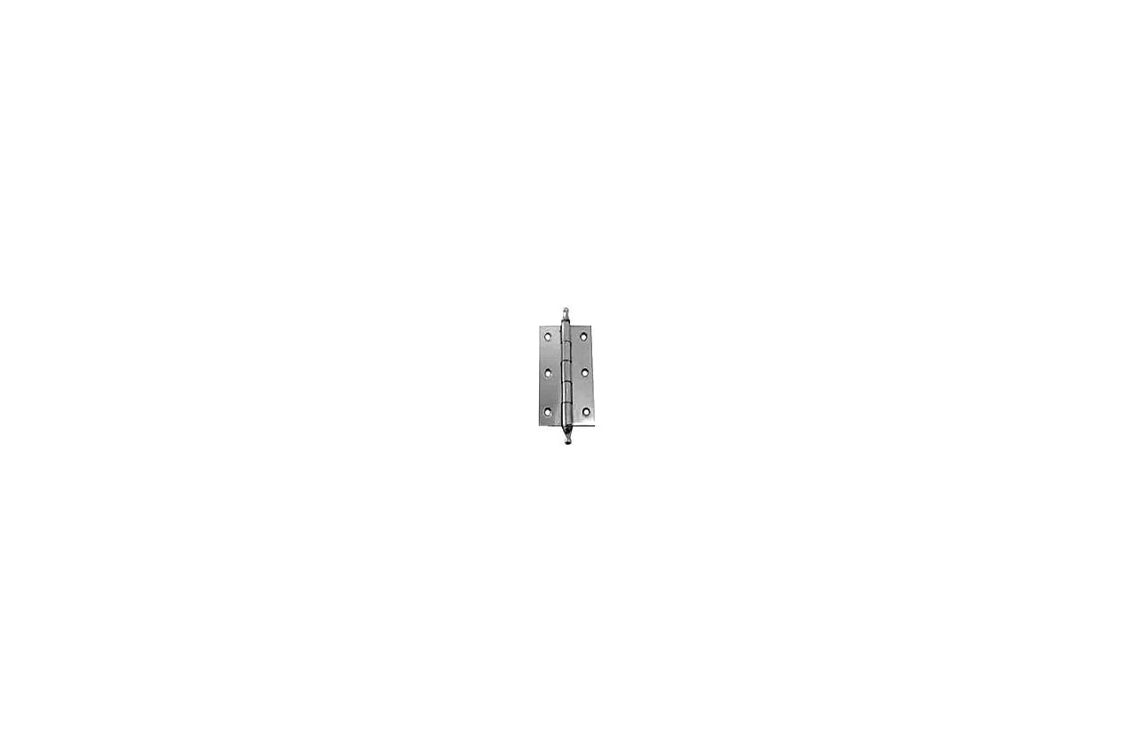 Петля дверная FZB - 65 мм AL BP (2 шт.)