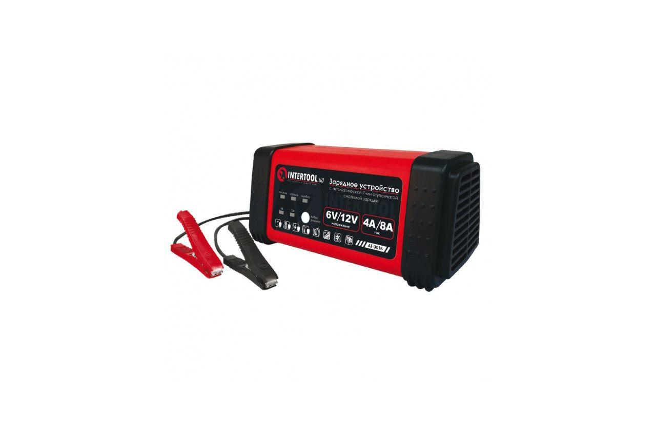 Зарядное устройство Intertool - 6 - 12 В x 4 - 8 А