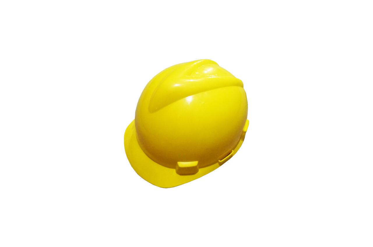Каска строительная Mastertool - желтая